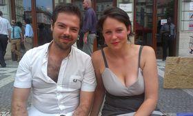 Michele Porsia, Yvette Vašourková, photo: Masha Volynsky