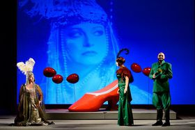 'The Three Wishes or the Inconsistencies of Life', photo: Martin Popelář / National Theatre