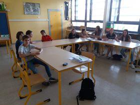 La classe des aînés, photo: Pierre M.