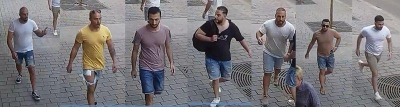Агрессоры, фото: Полиция Чешской Республики