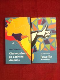 """""""Comercio por Latinoamérica"""" y """"Brasil, manual de instrucciones"""", foto: Juan Pablo Bertazza"""