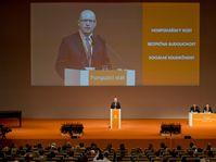 Le congrès du parti social-démocrate (ČSSD), photo: ČTK