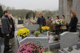 Могила Павла Тигрида во Франции, Фото: архив МИД ЧР