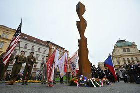 Memorial to General Patton, photo: CTK