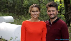 Emmanuel Chilaud with his girlfriend Pavla Klečková, photo: Iglou