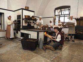 Кухня замка Жлебы, Фото: официальный сайт замка Жлебы