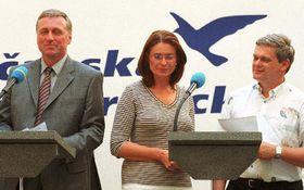 Oposicionista Partido Cívico Democrático quiere tumbar al Gobierno, foto: CTK
