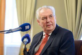 Miloš Zeman, foto: Khalil Baalbaki, ČRo