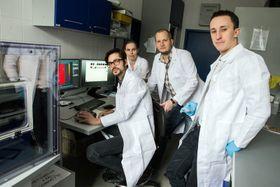 El equipo de Michal Masařík, foto: La Universidad Masaryk de Brno