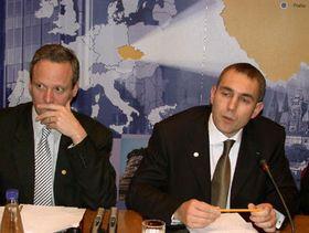 Cyril Svoboda y Martin Jahn (Foto: CTK)