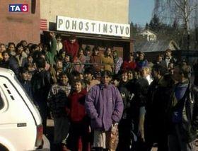 Disturbios sociales en Eslovaquia, foto: CTK