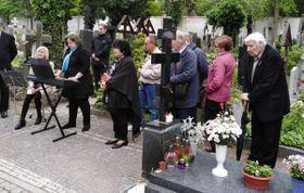 Церемония памяти репрессированных эмигрантов на Ольшанском кладбище, Фото: Игорь Будыкин