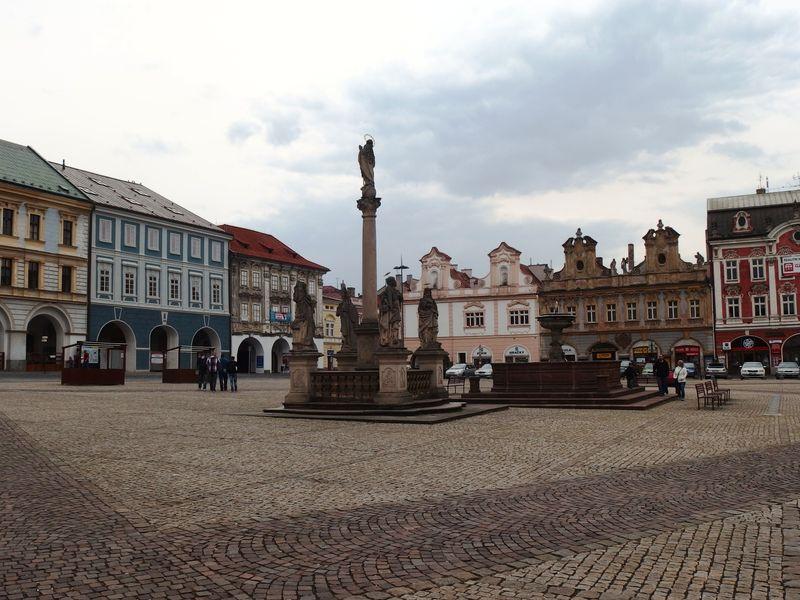 Центральная площадь города Колин, фото: Palickap, Wikimedia Commons, CC BY-SA 4.0