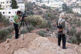 'Koudelka Shooting Holy Land', photo: Gilad Baram / One World festival