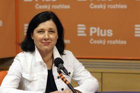 Věra Jourová (Foto: Jana Přinosilová, Archiv des Tschechischen Rundfunks)