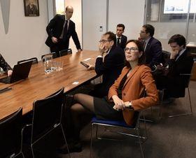 Amélie de Montchalin, photo: Twitter de La France à Prague