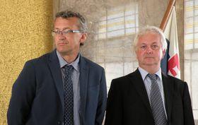 Prokop Tomek et Ivo Pejčoch, photo: Anton Kaimakov