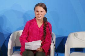 Greta Thunberg, photo: ČTK/AP/Jason DeCrow