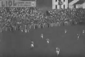 Juventus Turin - Slavia Prag im Mitropapokal 1932 (Foto: YouTube)