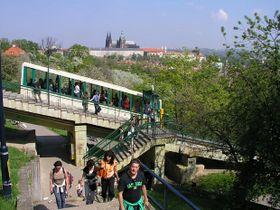 Фуникулер (Фото: © City of Prague)