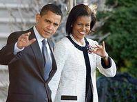 Barack and Michelle Obama, photo: CTK
