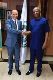 Marek Skolil et le ministre des Affaires étrangères du Nigeria, photo: MZV ČR