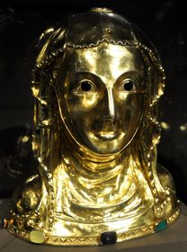 St. Ludmila's reliquary bust, photo: Packare, CC BY-SA 4.0