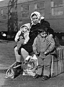 Беженцы из Греции, Фото: Архив Чешского радио