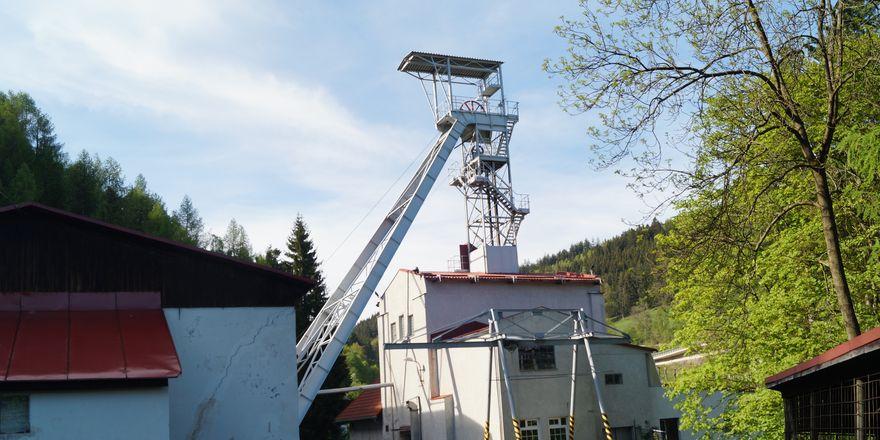 Former Svornost uranium mine in Jáchymov, photo: Miloš Turek