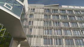 Václav-Havel-Gebäude in Straßburg (Foto: ČT24)