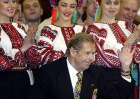Вацлав Гавел в Украине (Фото: ЧТК)