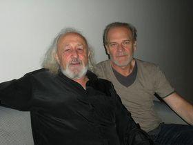 Montxo Armendáriz y Lluís Homar