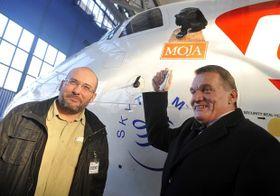 Miroslav Bobek, Bohuslav Svoboda, photo: CTK