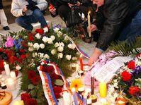 Avenida Nacional en Praga, el 17 de noviembre de 2003, foto: CTK