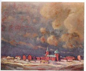 Юлиус Шустала: «После вечерней бури (Владимир-Волынский)», 1924 (Фото: Либерецкая галерея)