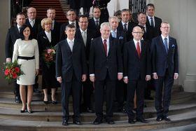 Regierung Sobotka (Foto: Jakub Deml, Archiv TV Nova)