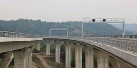 La autopista D8, foto: Archivo del Ministerio de Transportes