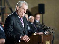 Miloš Zeman při inauguračním projevu, foto: Foto: Filip Jandourek / Český rozhlas