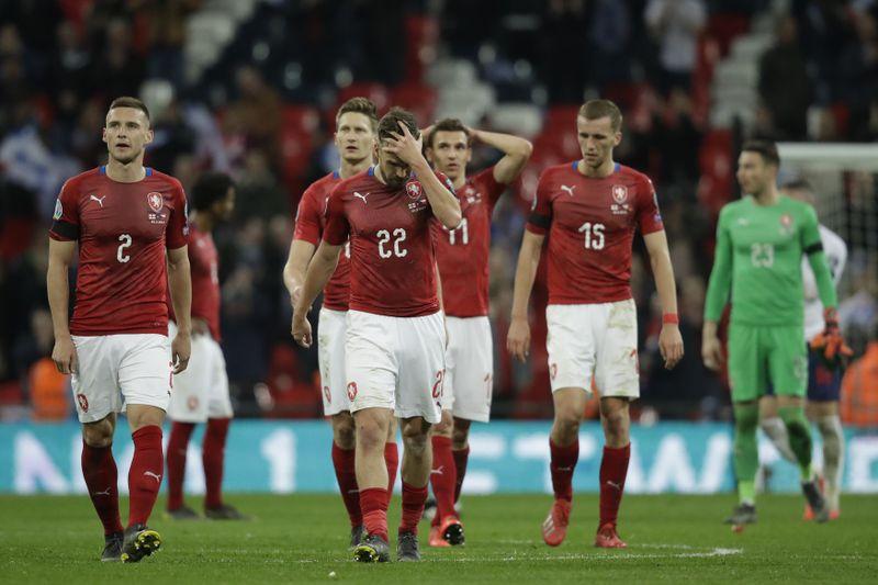 Angleterre - Tchéquie (5-0), photo: ČTK/AP/Matt Dunham