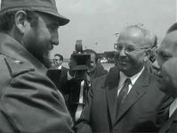 Fidel Castro et Gustav Husák, photo: ČT