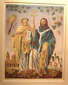 Cirilo y Metodio (pintura de Cyril Bouda), foto: Miloš Turek