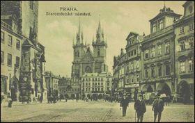 Prague en 1918