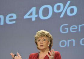 Viviane Reding, foto: Comisión Europea