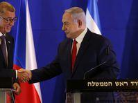 Andrej Babiš a Benjamin Netanjahu, foto: ČTK / AP Photo / Ariel Schalit, Pool