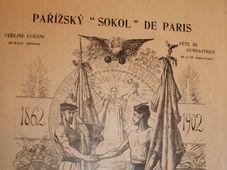 Sokol de Paris, photo: e-sbirky / Národní muzeum, CC BY