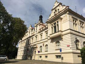 Jan Kasl's old school on Kupkovo náměstí, photo: Ian Willoughby