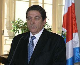 Ministro de RR.EE. de Costa Rica, Roberto Tovar (Foto: autor)