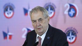 Miloš Zeman, photo: ČTK/Ondřej Deml