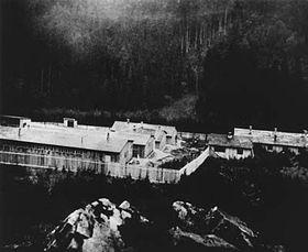 Lager in Hodonín (Foto: Archiv des Museums für Roma-Kultur)