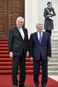 Miloš Zeman und Joachim Gauck (Foto: ČTK)